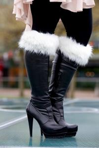 Siberian White Boot Topper