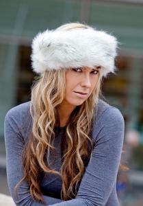 Siberian White Headband