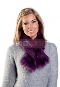 Violet Tippet Scarf