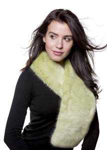 Willow Green Tapered Scarf