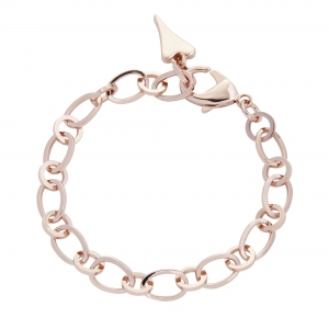 1800700- Miss Dee rose gold multi links charm chain