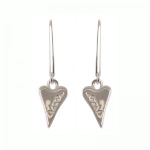 1800411-Miss Dee 1micron MADRID Heart Drop Earrings