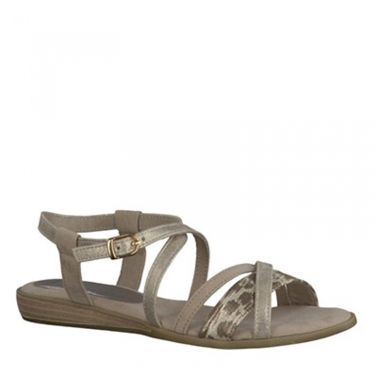 marco tozzi 28125 platinum marco tozzi sandals casual wagstaffes. Black Bedroom Furniture Sets. Home Design Ideas