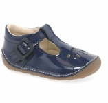 Clarks Little Weave - Navy