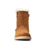 Clarks Crown Piper T - Tan Suede