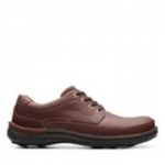 Clarks Nature Three - Mahogany