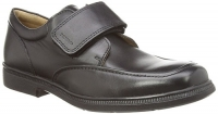 Geox J Federico A School Shoe - Black