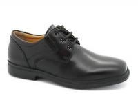 Geox J Federico M School Shoe - Black