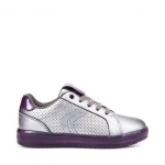 Geox J Kommodor Girl - Dark Silver
