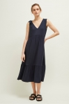 Great Plains Melrose Mix Dress - Dark Navy