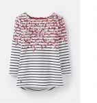 Joules - Harbour Print - Cream Ditsy