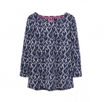Joules - Harbour Print - Navy Hearts