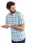 Joules Wilson Shirt - Green Check