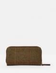 Joules Fairford Purse - Brown Tweed