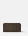 Joules Fairford Purse - Dark Green Tweed