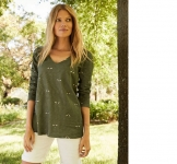 Joules Green Bee Top - Green