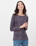 Joules Harbour Long Sleeve Jersey - Navy Speckle
