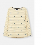Joules Harbour Top - Dog Stripe