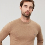 Joules Jarvis Crew Neck - Caramel