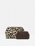 Joules Peplow Leather Purses - Chocolate
