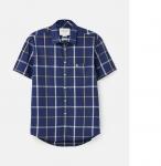 Joules Wilson Shirt - Navy/Yellow Check