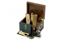 Loake Valet Box - Brown
