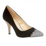 Lotus Crawford - Black/Pewter Glitz