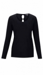 Marble Sweater - Black