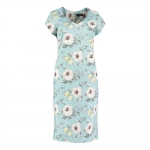 Pomodoro Petal Dress - Duck Egg Blue