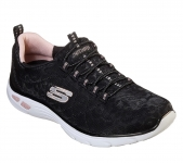 Skechers Empire Delux Spotted - Black