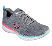 Skechers Flex Appeal 3.0 Reinfell - Grey