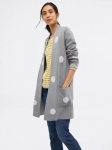 White Stuff - Dotty Spot Jacket - Grey