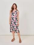 White Stuff Adele Linen Dress - Petal Pink