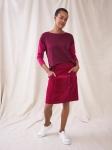 White Stuff Josie Cord Skirt - DK Pink