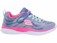 skechers - Move N Groove - Blue/Pink