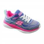 Skechers Move N Groove - Blue/Pink